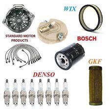 Tune Up Kit Filters Cap Wire Plugs For PONTIAC FIREBIRD V8 6.6L w/Ram Air 1975