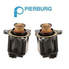 NEW BMW E82 F10 F25 E70 Pair Set of 2 Turbocharger Cut-Off Valves Pierburg