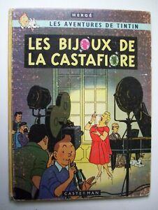 tintin les bijoux de la castafiore  eo 1963 ed française
