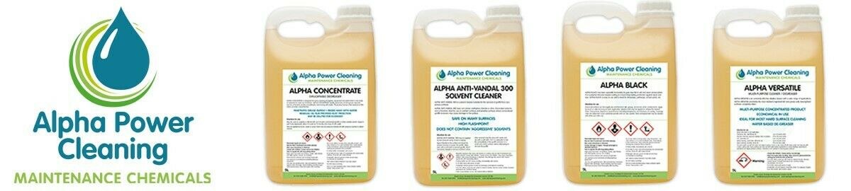 Alpha Power Cleaning Products
