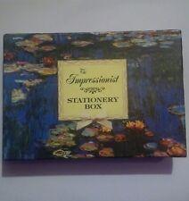 The Impressionist Stationery Box Set Writing Paper, Notelets & Envelopes