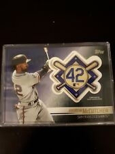 Andrew Mccutchen 2018 Topps Update Jackie Robinson Patch Card Giants