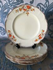 Vintage 1930's Sunshine J. & G. Meakin England Crown 'Dorothy' Dinner Plate Set