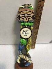 *Broken and Repaired* Eastern Shores Knot So Pale Ale beer tap handle.Repaired