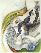 Salvador Dali, Original Engraving from Illustre Casanova suite New Frame OBO!