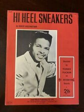 HIGH HEEL SNEAKERS SHEET MUSIC-TOMMY TUCKER-RARE UK!   12230