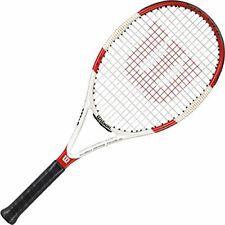 Wilson Six.One Team 100 BLX Tennis Racuqet, PRE STRUNG