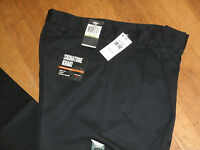 Dockers Signature Khaki Dress Pants Pleated D4 Relaxed Fit Wrinkle Free Navy New