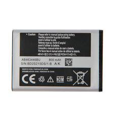 Battery AB043446BE For SAMSUNG C3300K X208 B189 B309 F299 AB463446BU 800mAh