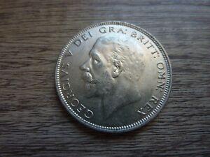 1928 Silver Half Crown (ref76)