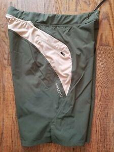 HYLETE Above Knee Mens Size Medium Khaki Green Tan Shorts