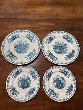 Mason's Ironstone Blue Fruit Basket 2 Dinner Plates 2 Desert Plates Beautiful!