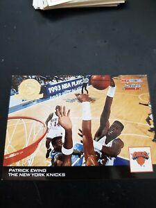 PATRICK  EWING NBA CARD HOOPS 1993-94 SUPREME COURT #HS18 NEW YORK KNICKS HOF$$