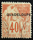 Timbre GUADELOUPE Stamp (Colonie Française) Yvert & Tellier n°24 Obl (Col4)