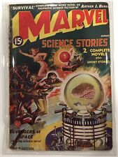 Marvel Science Stories #1 1938 1st Marvel Name Red Circle Timely Comics Avengers