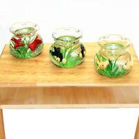 Mini Gold Fish Bowl Dollhouse Pets 1:12 Dolls House Living Room Decor