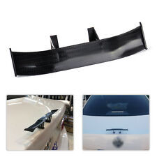 17cm Black Carbon Fiber Twill Look GT Tiny Mini Rear Wing Spoiler Decoration New
