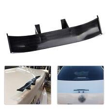 17cm Black Carbon Fiber Twill Look GT Tiny Mini Rear Wing Spoiler Decoration New