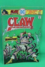 Claw the Unconquered #3 Sword & Sorcery Comic DC Comics F/F+