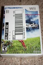 Xenoblade Chronicles Nintendo Wii NEW Factory Sealed Set of 4 Original 1st Print