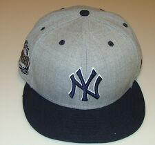 2014 New York Yankees Grey Heather Pop New Era Hat Cap Baseball 59fifty 7 1/2