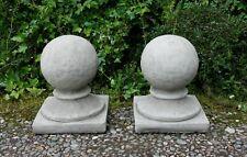 Small Ball Finial Garden Ball Finial Stone Ball Finial