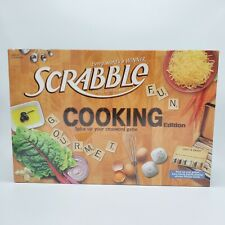 Scrabble Cooking Edition Board Game Factory Sealed New In Box Hasbro