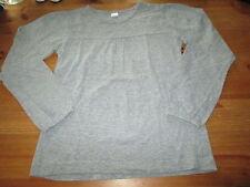 Tee-shirt Uni Gris,ML,T 7/8ans,marque La redoute,en TBE