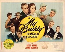 Don Red Barry Ruth Terry Roberts My Buddy 1944 Lobby Card LC216