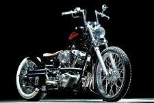 HARLEY DAVIDSON SHOVEL HEAD CUSTOM VINTAGE MOTORCYCLE POSTER 24x36