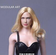 "1/6 Modular Art MA014 Female CGL Jessica Alba Hair Head Sculpt F 12"" Figure Doll"