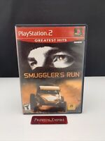 Smuggler's Run PlayStation 2 PS2 - Complete CIB - Tested and Working!
