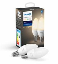 Philips Hue White  2700K Warm 2 pack bulbs E14