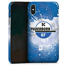 Apple iPhone X Premium Case Cover - SC Paderborn Colour Splash