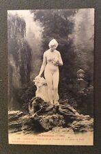 CPA. LUCHON. 31 - Statue de la Vallée du Lys dans le Parc. 1906.