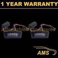 2x Para Vw Golf Plus Variante Aluminio 3 Cree Led Blanco de la placa de lámparas
