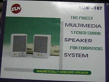PC Multimedia Speakers
