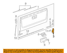 GM OEM Tail Gate-Hinge Right 15206081