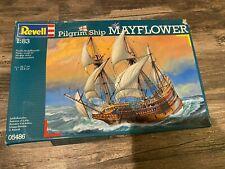 REVELL MAYFLOWER PILGRIM SHIP 1/83 SCALE PLASTIC MODEL KIT (#05486)