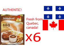 6 St-Hubert BBQ Sauce gravy mix 52g canadian product FREE SHIPPING