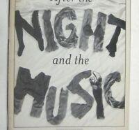 Night and Music Playbill 2005 Manhattan Theatre Club Joel Blum Peter Max Kerwin