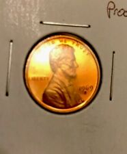 Extremely Rare Proof 1969 S Error Doubled Die Obverse Lincoln Cent