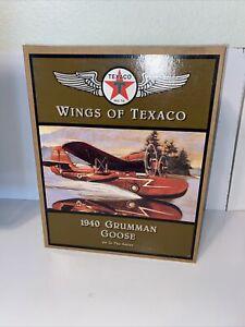 Ertl Wings of Texaco F900 1:24 Scale 1940 Grumman Goose Plane 4th in Series 1996