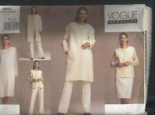 Vogue Sewing Pattern 2612 size 14 16 18 Loose Fit Trouser Top Skirt Dress
