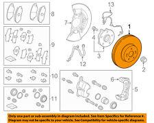 TOYOTA OEM 2018 Camry-Disc Brake Rotor 4351206200