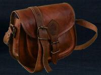 Neu Damen Retro Vintage Leder Tasche Schultertasche Umhängetasche Handtasche Bag