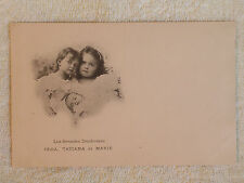 Russian Grand Duchesses Olga Tatiana & Infant Maria Romanov/1899 Printed Photo