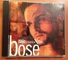 ☀️ Miguel Bose Bajo el Signo de Caín Music CD Spanish Pop Rock Rare