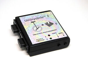 Unijoysticle 2 in case2. Use modern Bluetooth gamepads in your Commodore 64/128
