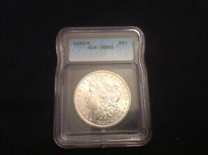 1880 S Morgan Silver Dollar ICG MS 61 Flashy Coin